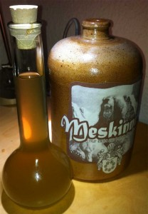 Meskinnes Flasche
