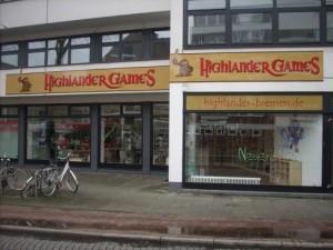 Neueröffnung: Highlander Games in Bremen